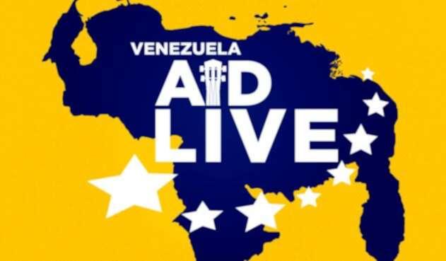 Imagen promocional del concierto Venezuela Aid Live