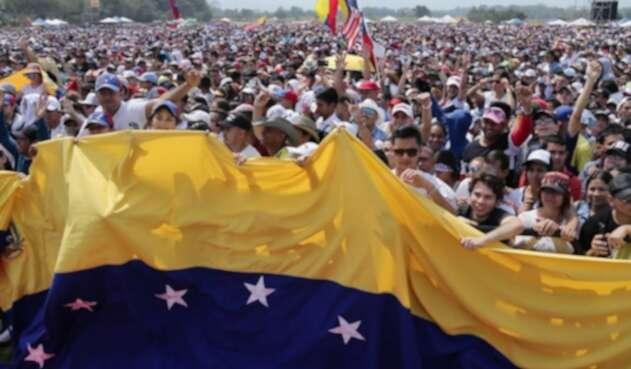 Venezuela Aid Live, una bella postal humanitaria