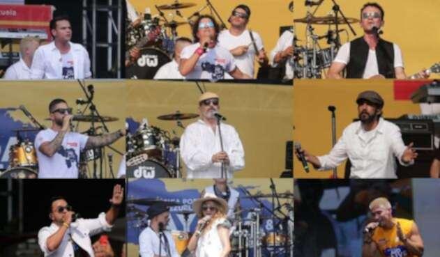 'Venezuela Aid Live', el histórico concierto