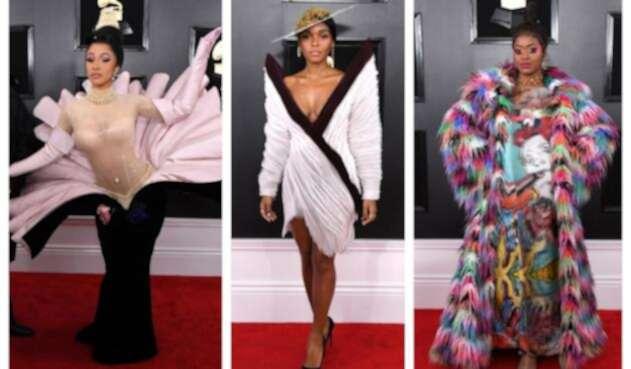 Los vestidos más extravagantes de los Grammy