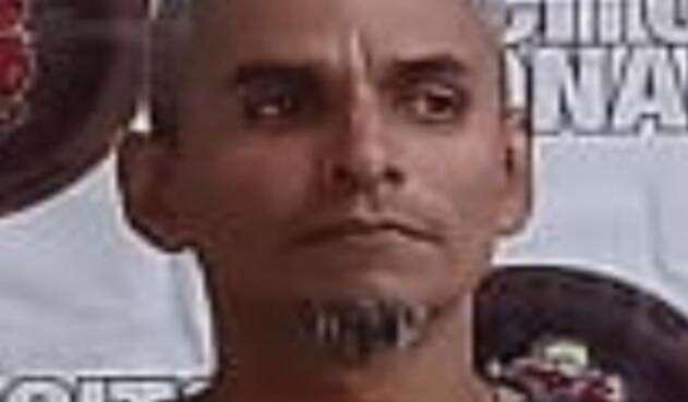 Jesús Alfredo Meneses, alias 'El Mudo'.
