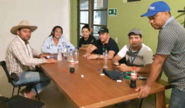 En Arauca se desarrolla consejo de seguridad con las autoridades civiles y militares tras el secuestro de funcionarios y posterior liberación