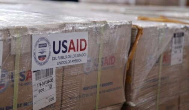 Ayuda humanitaria de Estados Unidos para Venezuela