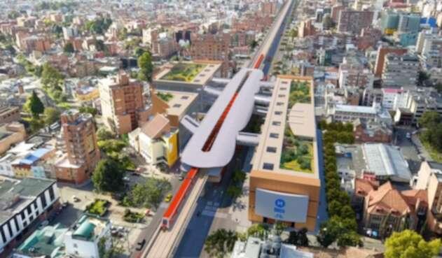 Render metro de Bogotá, que se adjudicará por 20 años
