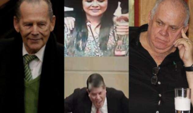 Xinia Navarro, Gerlein, Mesa, Zabaraín y otras 'joyas' de la política colombiana