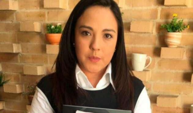 Yadira Aguagallo, novia del fotógrafo Paúl Rivas