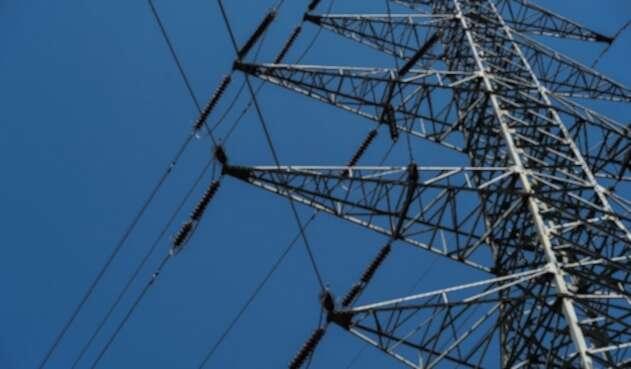 Torres de energía.
