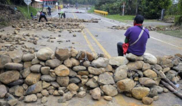 Protestas en Cauca