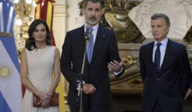 Reyes de España en Argentina