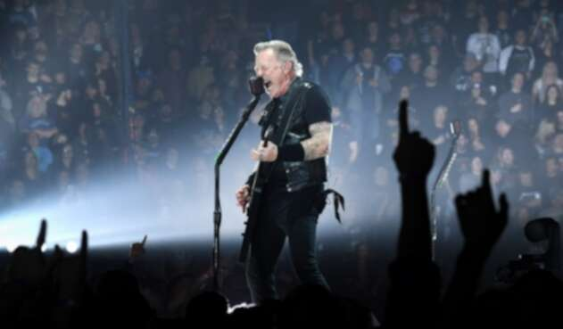 James Hetfield, vocalista y guitarrista de Metallica