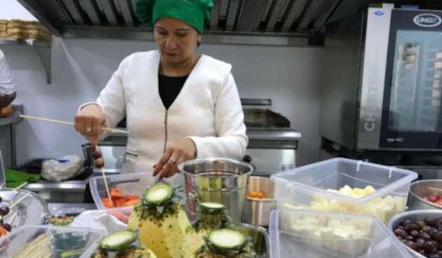 Restaurante operado por mujeres víctimas del conflicto