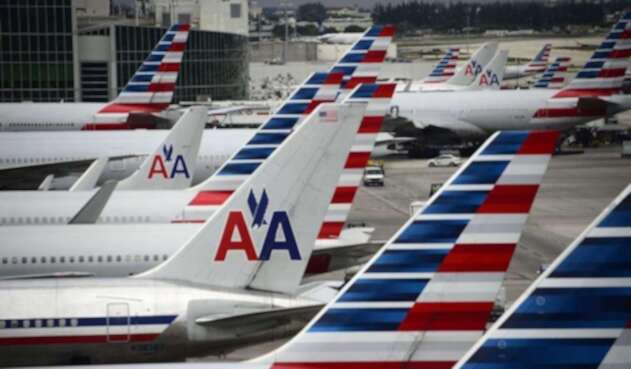 Aviones de American Airlines.