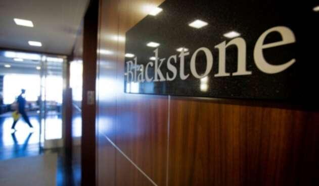 Oficina en Nueva York de la gestora de fondos Blackstone.