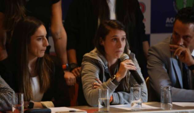 Jugadoras de la Selección Colombia Femenina