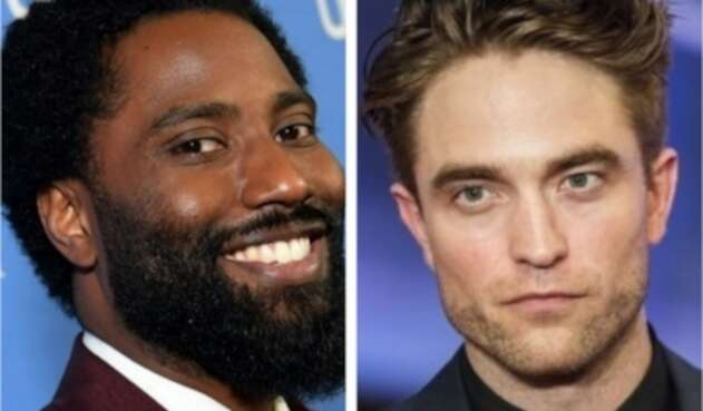 John David Washington y Robert Pattinson