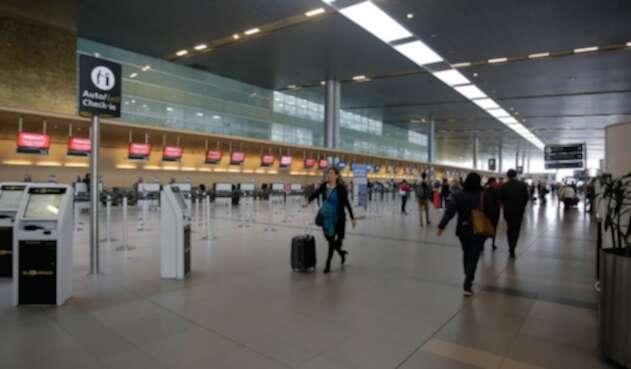 El Aeropuerto El Dorado, en Bogotá