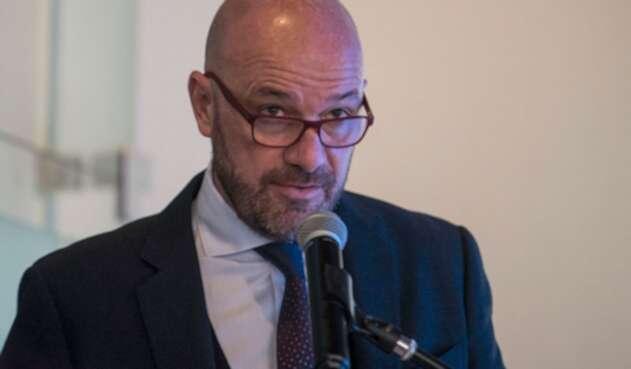 Alberto Brunori, delagado de la ONU