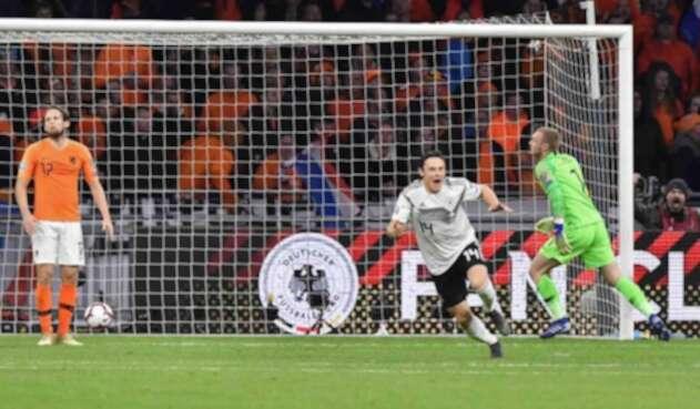 Alemania derrotó a Holanda en su casa.