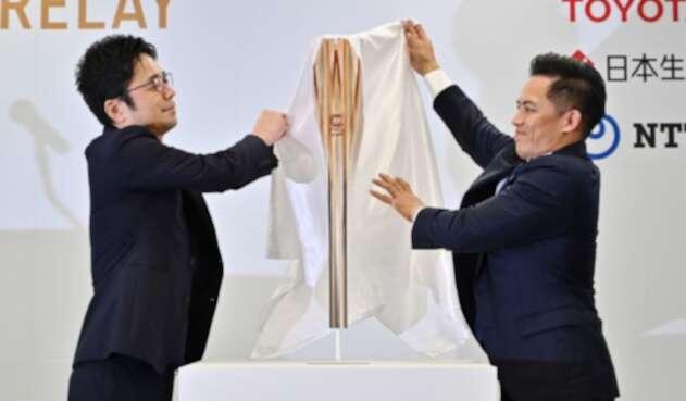 Antorcha de juegos olímpicos de Tokio 2020