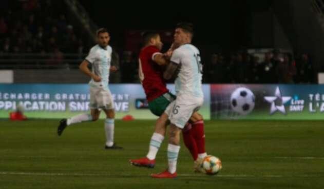 Argentina venció 1-0 a Marruecos.