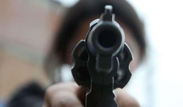 Pistola. Imagen de referencia.