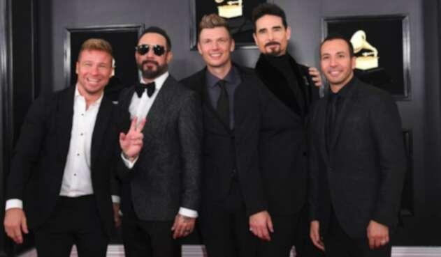 Backstreet Boys en la gala de los Premios Grammy 2019
