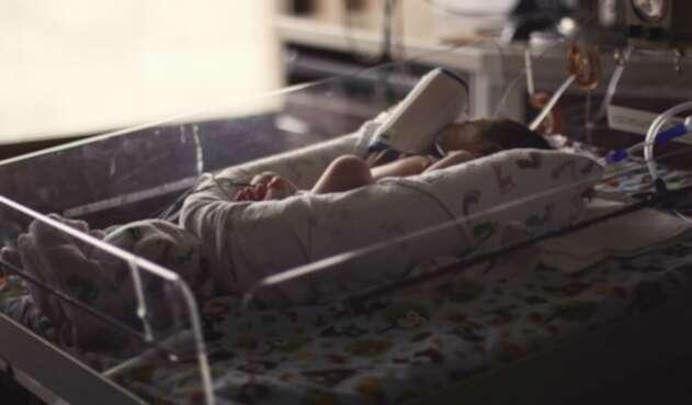 Bebé hospitalizado