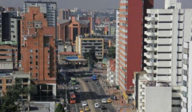 Polvo de Saharaen Bogotá