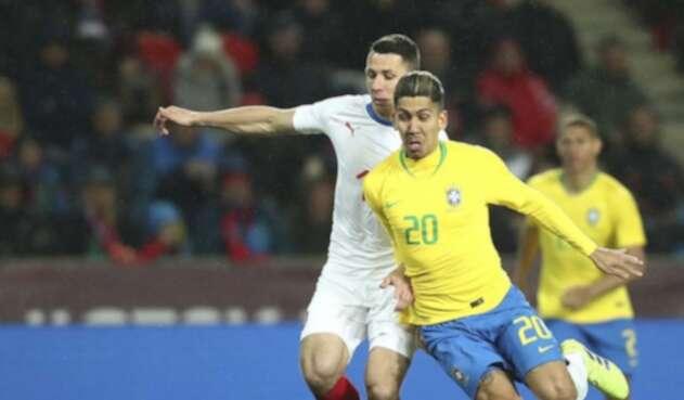 Brasil le ganó a República Checa.