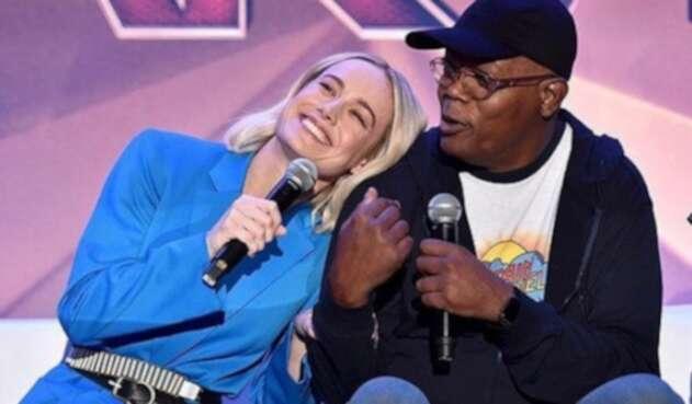 La protagonista de 'Capitana Marvel' cantó a su estilo el famoso tema 'Shallow' de la película 'A Star is Born'