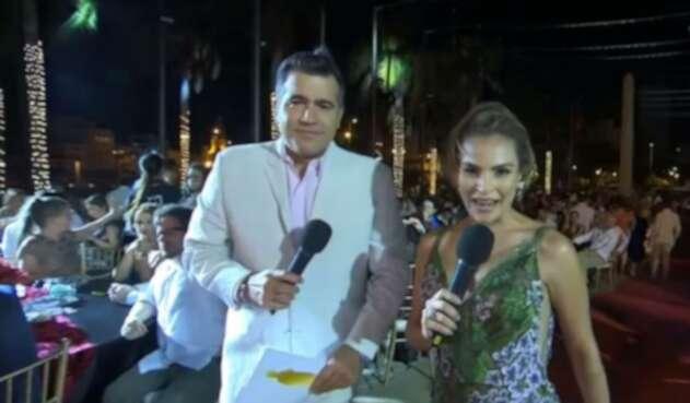 Carlos Calero presentador de los Premios India Catalina 2019