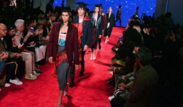 Desfile de Calvin Klein