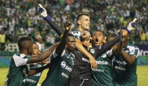 Gol de Camilo Vargas a Millonarios en el último minuto