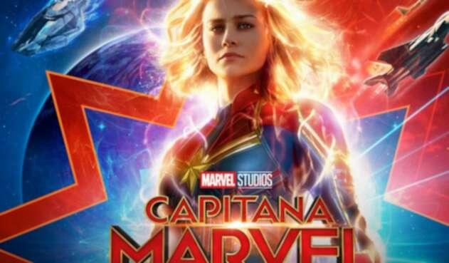 Capitana Marvel es Carol Danvers, la imbatible heroína interpretada por Brie Larson