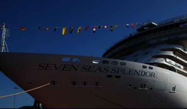 El crucero más lujoso del mundo 'Seven Seas Splendor'.
