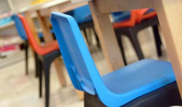 Foto de referencia sobre el entorno escolar