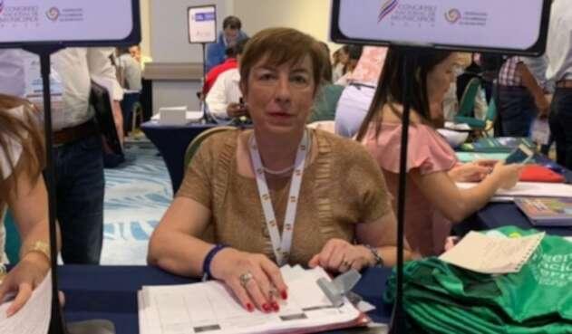 Claudia Ortiz, directora de la Agencia de Desarrollo Rural