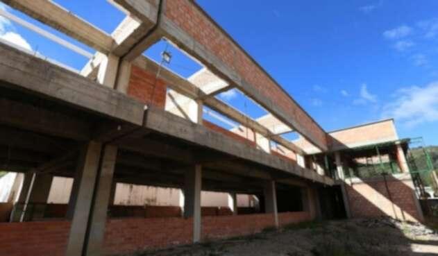 Obras en colegios de Boyacá paralizadas