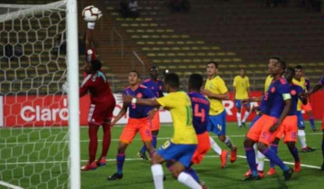 Colombia Vs Brasil sub 17