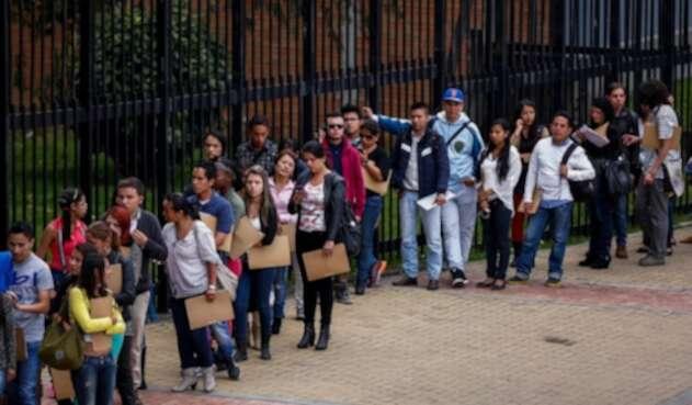 Espera en Bogotá
