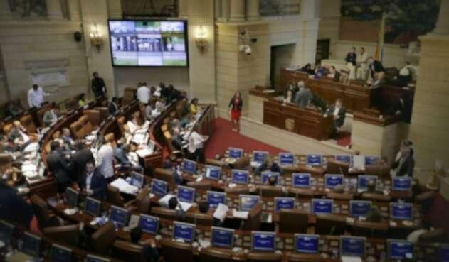 Debate en el Congreso de la República del Plan Nacional de Desarrollo