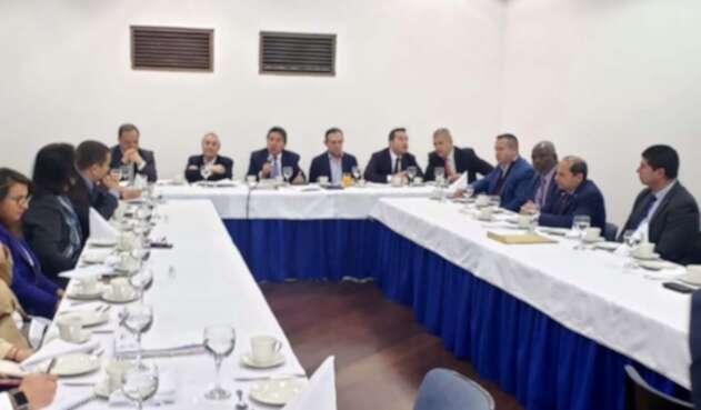 Reunión del Partido Conservador