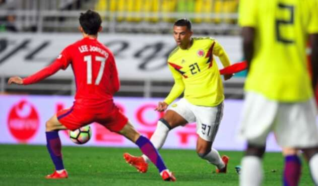 Corea del Sur vs Colombia, amistoso 2017