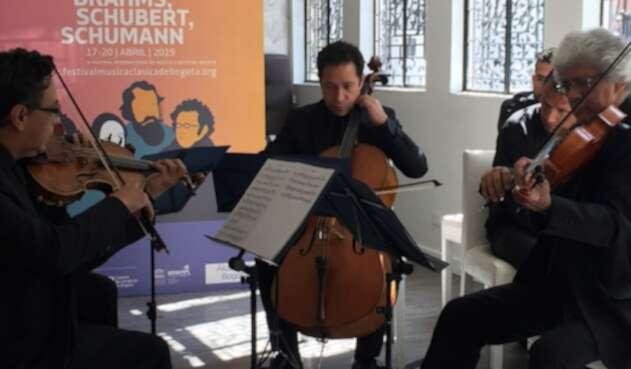 El Cuarteto Manolov en el Festival de Música de Bogotá