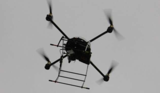 Usando un dron pretendían ingresar marihuana en cárcel de Jamundí.
