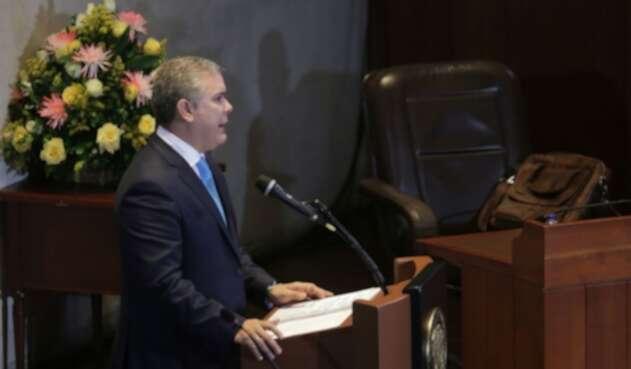 Presidente Iván Duque ante la Corte Constitucional