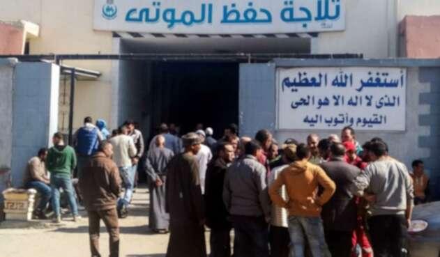 Explosión en planta química en Egipto