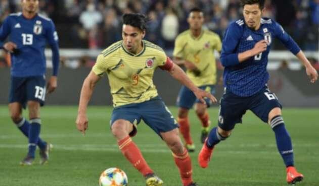 Radamel Falcao, delantero de la Selección Colombia