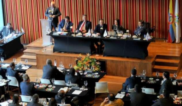 Asamblea Ordinaria de la Dimayor, la Difútbol y la Federación Colombiana de Fútbol.