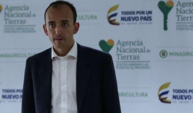 Miguel Samper, exdirector de la Agencia de Tierras
